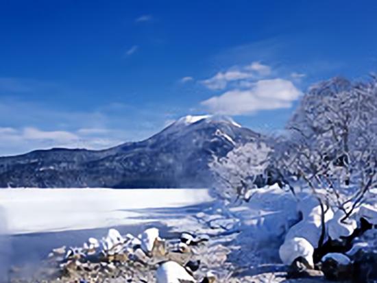 冬の摩周湖(※イメージ)