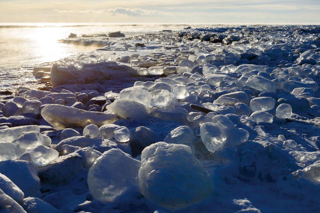 厳冬の北海道十勝が創造するフォトジェニック