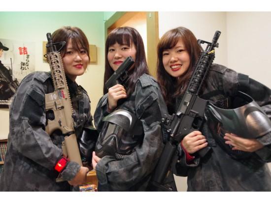 【大阪・サバイバルゲーム】駅直結!初心者3時間パック(レンタル込み)