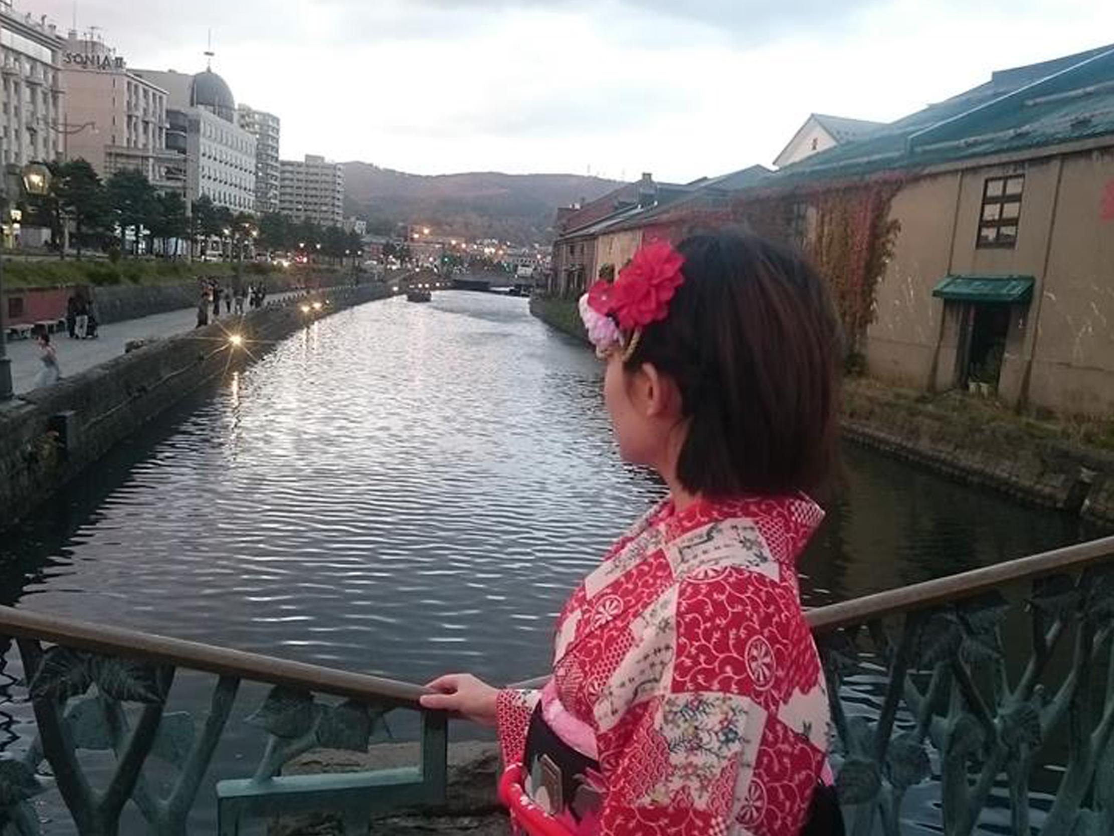 着物を着て小樽観光しませんか?