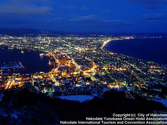 函館夜景(イメージ)