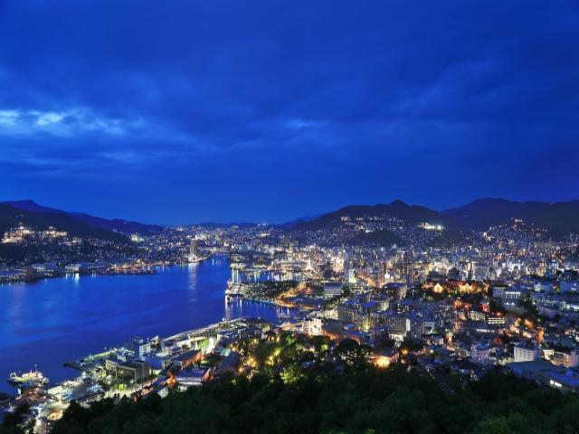 長崎の夜景スポットをツーリストタクシーで巡る観光コース!