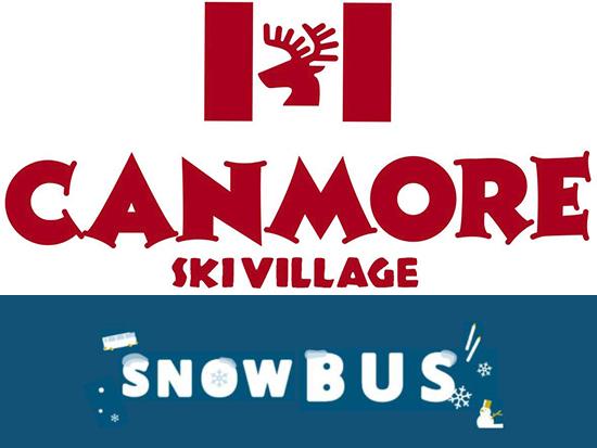 キャンモアスキー場へバスでいけちゃう!