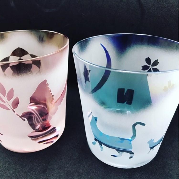 好きな絵や文字をグラスに彫刻!サンドブラストでオリジナルグラスを作ろう!