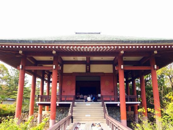 大和三門跡寺院の1つ「中宮寺」