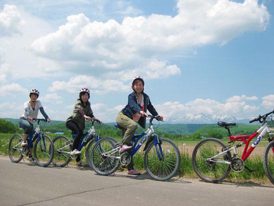 【夏季】富良野 マウンテンバイクツアー