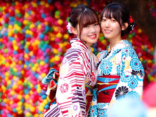 京都中心街に一番近くの着物レンタル♪遊びに行くのに、アクセス抜群!!