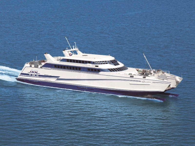 高速船「オーシャンアロー」