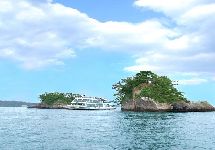 松島遊覧船(一例)