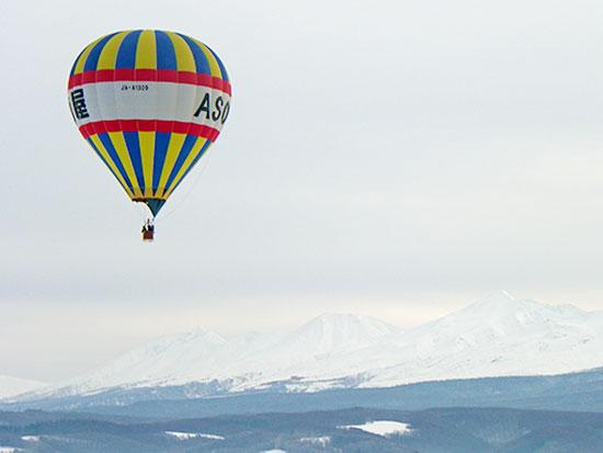 【冬季】富良野 熱気球フリーフライト【20分フライト】