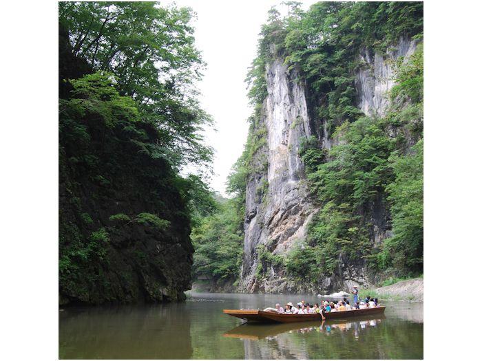 猊鼻渓舟下り(イメージ)