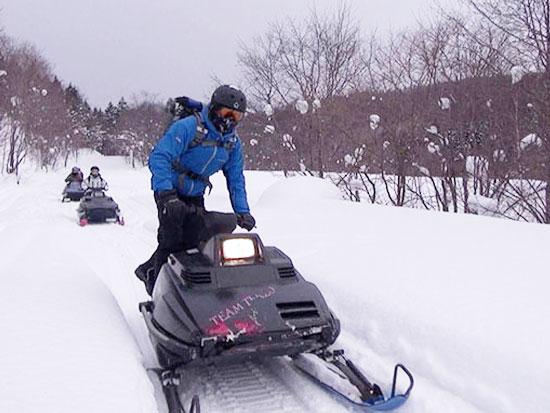 【冬季】富良野 スノーモービル体験ツアー【1日コース】