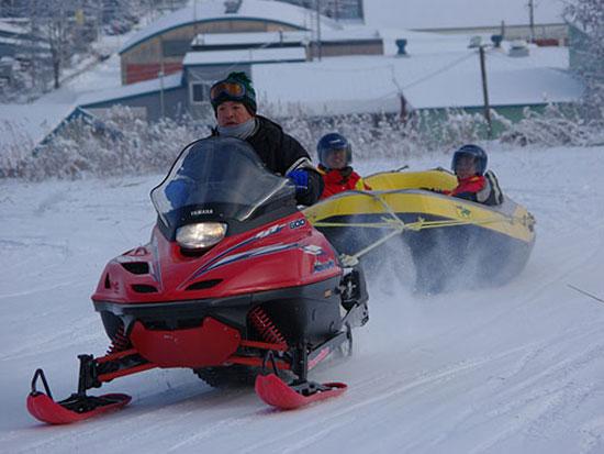 【冬季】富良野 スノーラフティング【2kmコース】