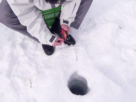 【冬季】富良野 わかさぎ釣り(金山湖)