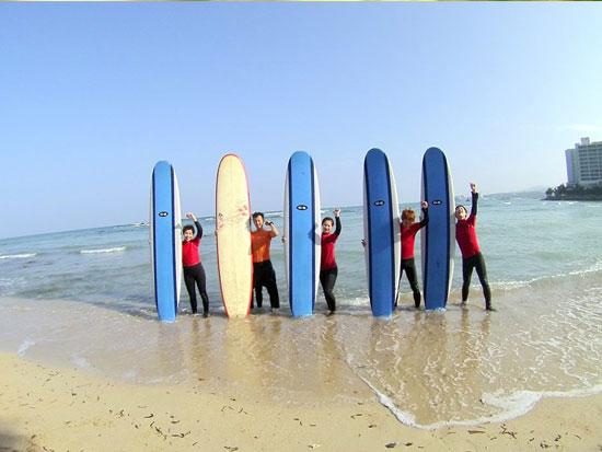 ほんっとに初めての方のために!体験ロングボードサーフィン!
