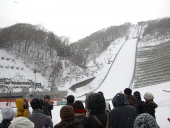大倉山ジャンプ場 ※イメージ画像