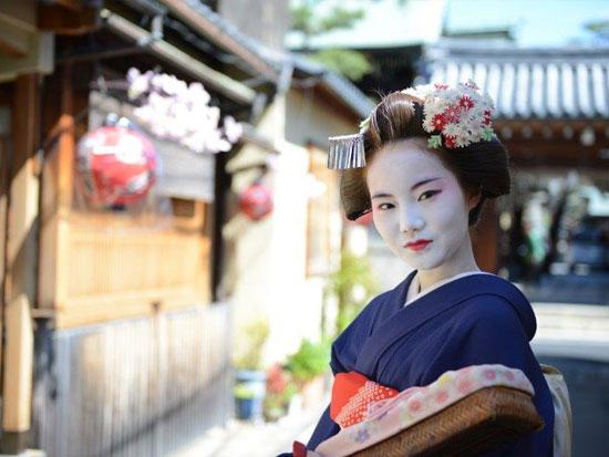 舞妓さんで京都散策♪
