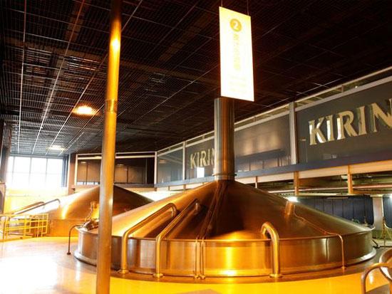 【キリンビール横浜工場見学・確約付き!】 工場見学ガイドの案内付きで、ビールの製造工程を見学!