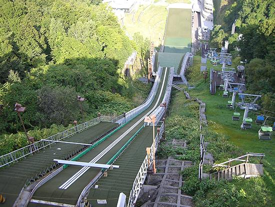 大倉山ジャンプ場