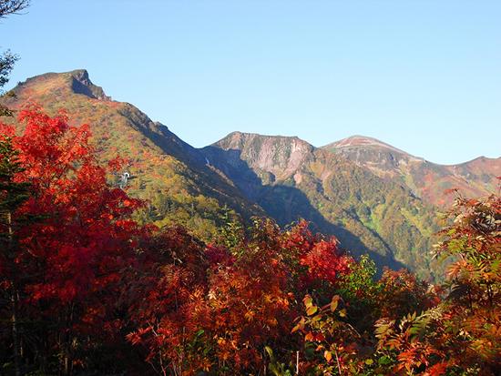 黒岳がある大雪山国立公園は、「北海道の屋根」と秋の燃える紅葉を楽しみたいのでしたら、このコースがおすすめです。