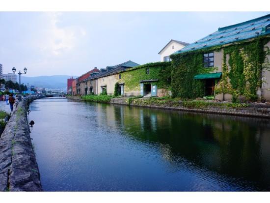 小樽運河(一例)