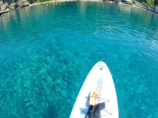 北海道屈指の美しい湖で体験!