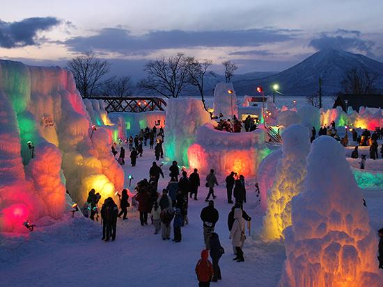 支笏湖氷濤祭り号